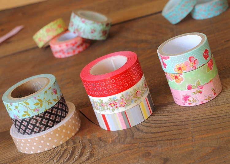 4. 「マスキングテープ」は和紙製で世界的に広まった