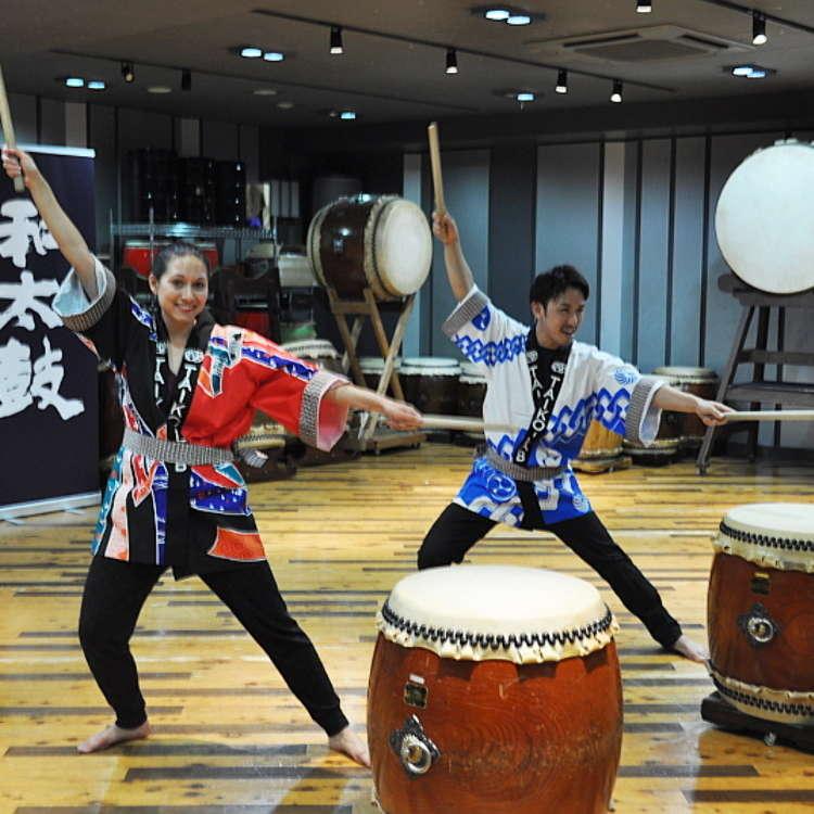 【MOVIE】TAIKO-LAB에서 와다이코 (일본전통 북) 체험