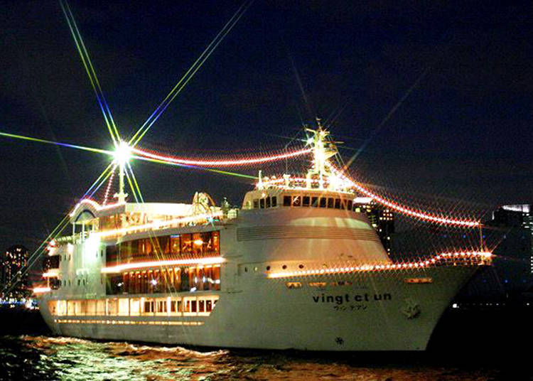 """Vingt et Un"" Countdown Cruise: Celebrating New Year's with Champagne"