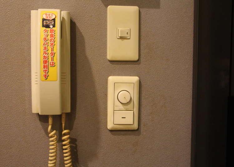 部屋にある電話は何のため?