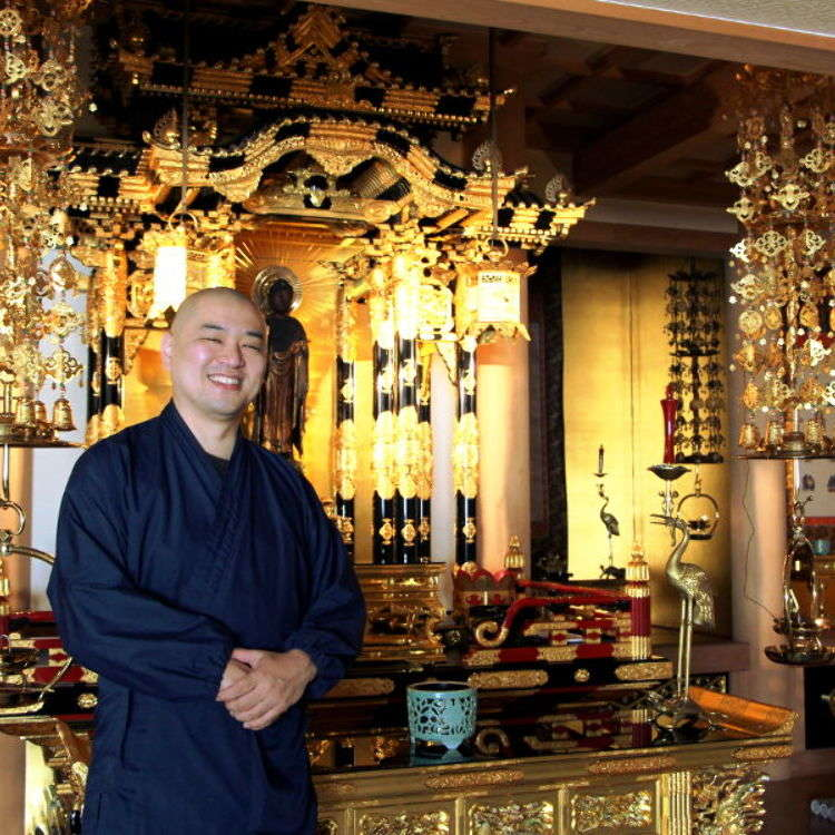 Of Tomatoes, Laptops, and Prejudice: Meeting the Monk of Kurayami Gohan, Tokyo's Buddhist Dark Dinner
