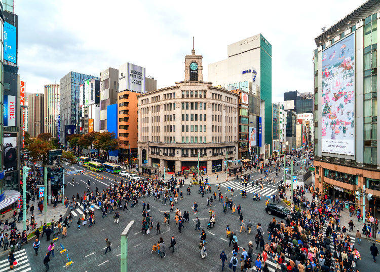 Shopping Spots in Ginza