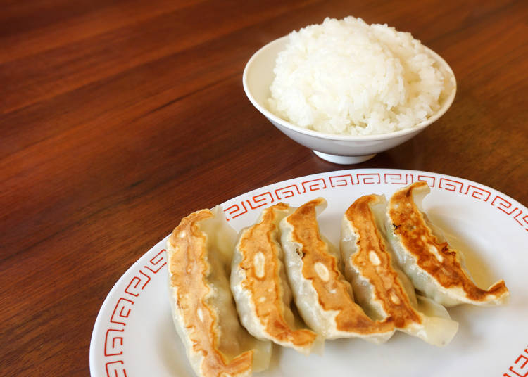 Fried Rice and Dumplings as Sides – That's a Japanese Thing!