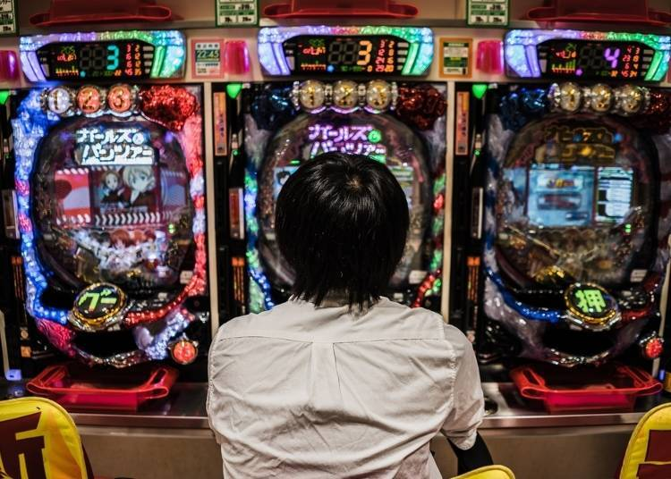 What's that Queue For? Pachinko Parlors Everywhere!