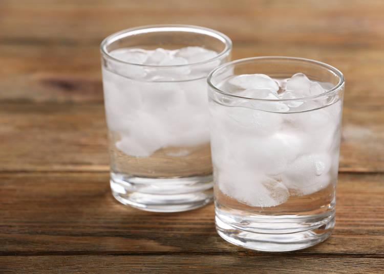 一年中、氷入りの水がでてくる!