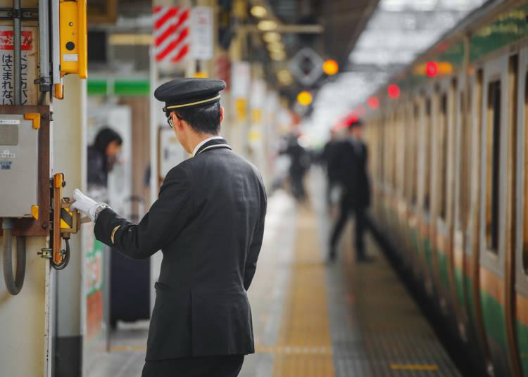 電車やバスがきっちりオンタイム!