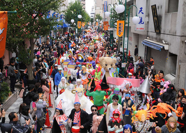 2016 Kawasaki Halloween Parade Highlights: 20 Years of Spooky Fun!