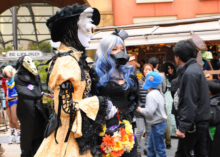 The Largest Halloween Parade in Japan