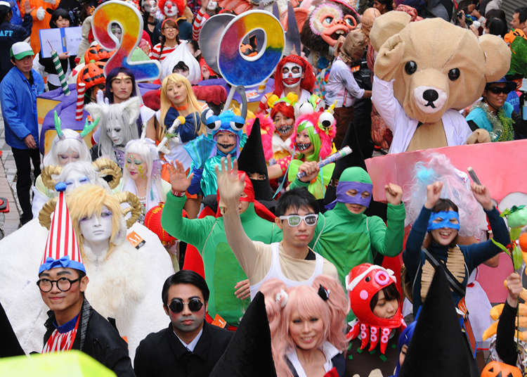 Everybody Had the Halloween Spirit