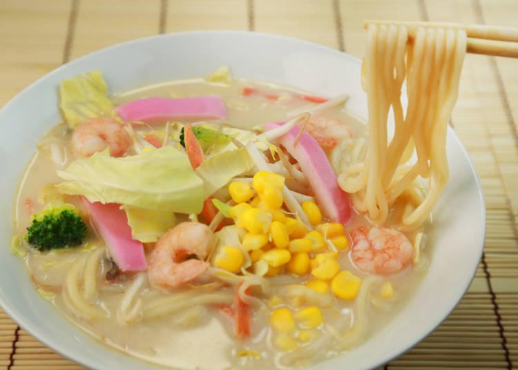 中国の留学生のために作られた「ちゃんぽん」は栄養満点!