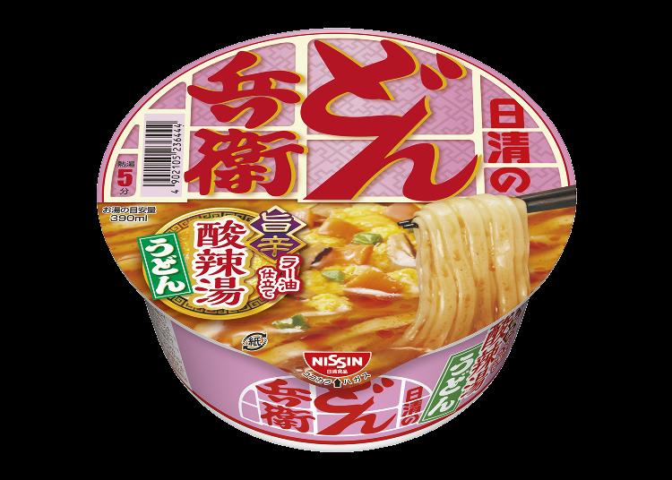 中華の定番「酸辣湯」×どん兵衛!