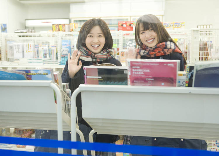 1. Spending the Day in the Convenience Store