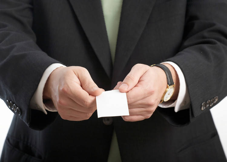8. Exchanging Business Cards