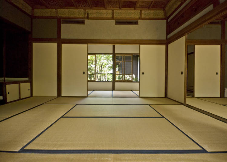 Tatami japan s traditional straw mats live japan - Tatami japones ...