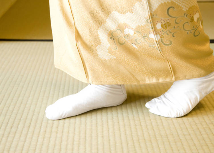 畳の間でのマナー