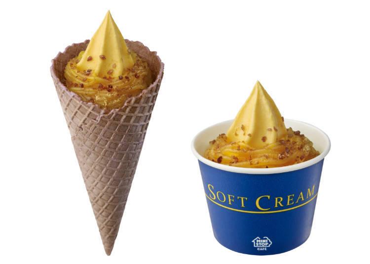 This Winter's Hottest Hit: Premium Sweet Potato Soft Ice Cream