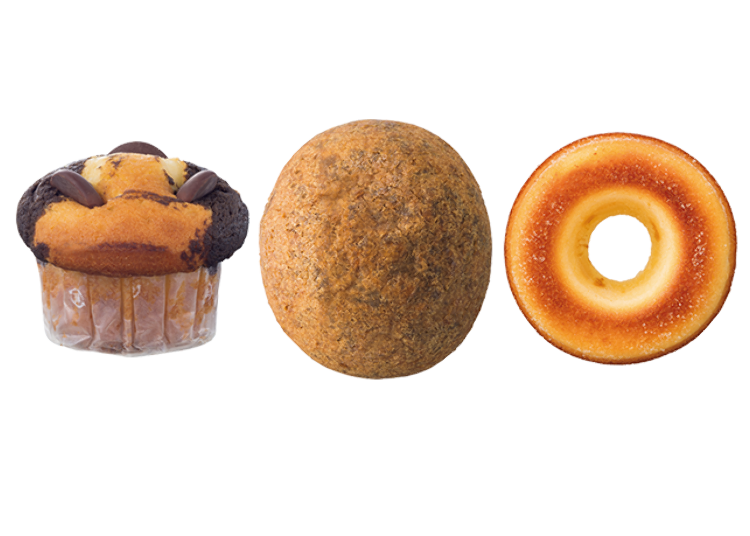 Baked Konbini Goodness: Meet the Choco Muffin, the Baked Ring, and the Agepoyo