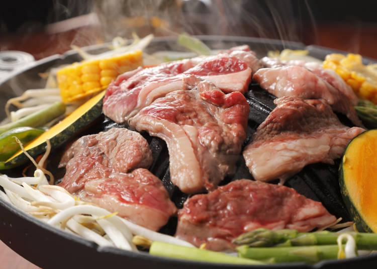 「ジンギスカン」は日本人向けにアレンジされていた