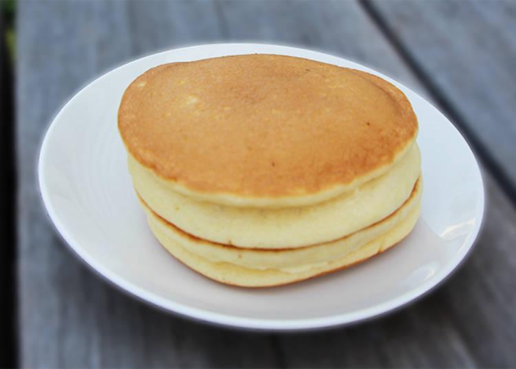 5.ふんわりホットケーキ(メープル&マーガリン)
