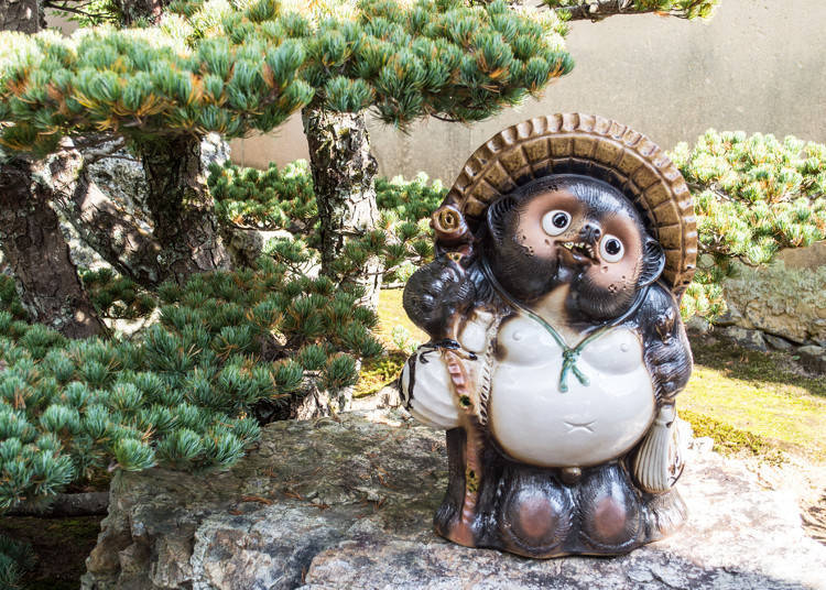 The Tanuki's Lucky Straw Hat