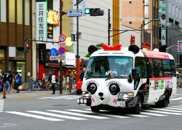 관광하기에 편리하다! 도쿄도내 무료 순환 버스 총정리