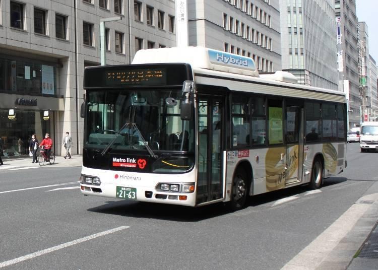 """巡回于日本桥地区的""""METRO LINK日本桥"""""""