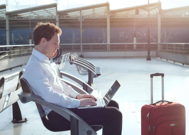 空港のWi-Fiスポット