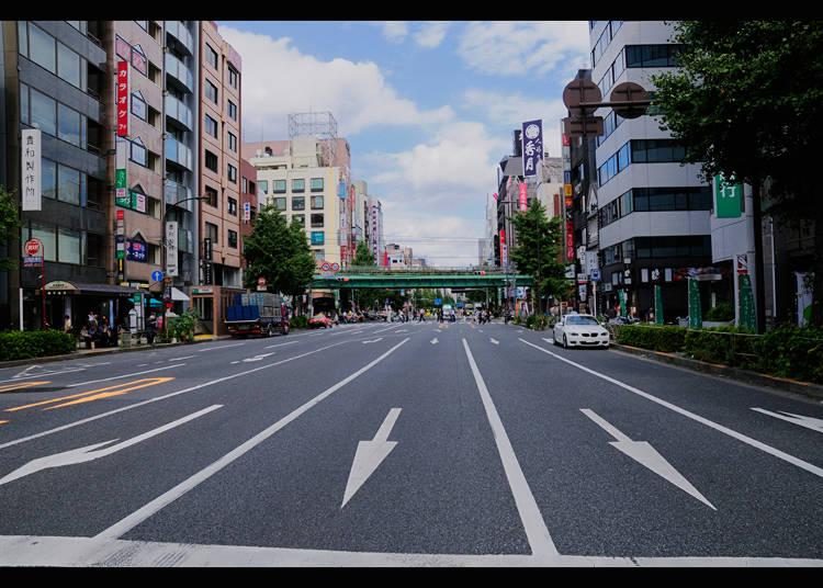 Edo-dori area