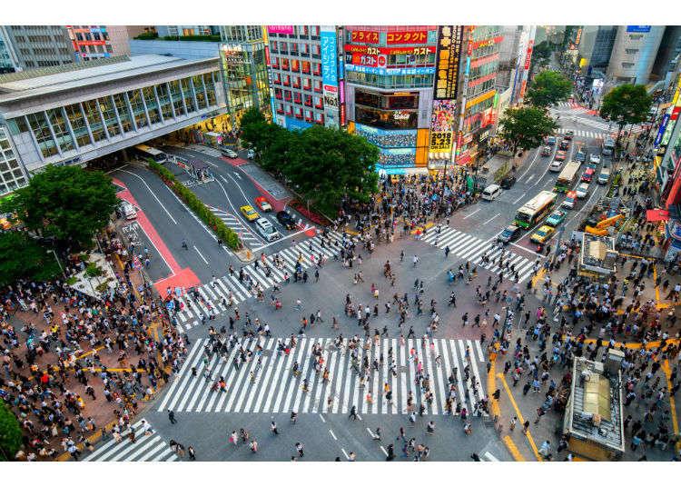Tokyo Shibuya|Shibuya Station Area Map & Sightseeing Information