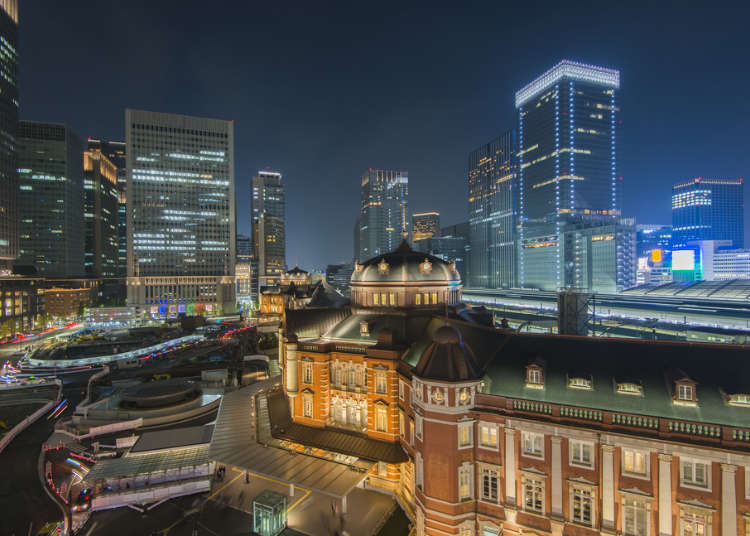 """东京人气地区""""东京站""""的景点"""