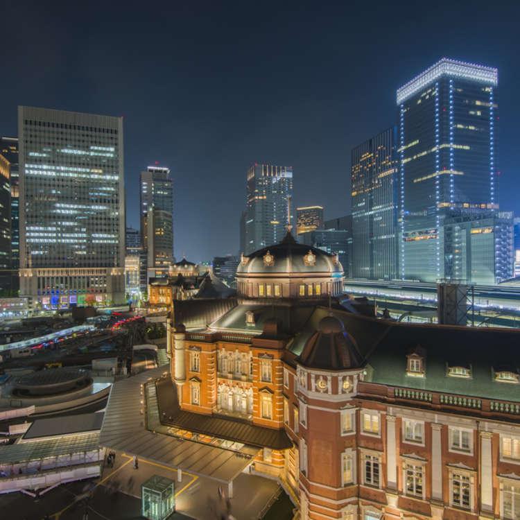 Peta sekitar Stesen Tokyo & informasi pelancongan