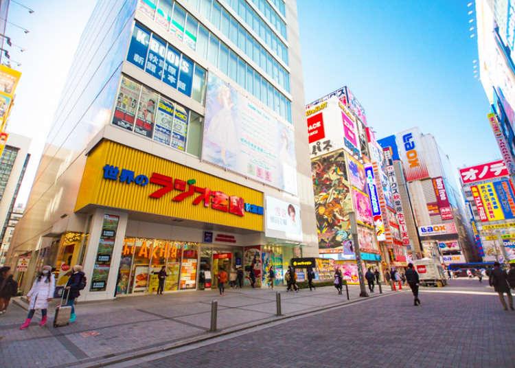 東京人氣地區「秋葉原」的景點