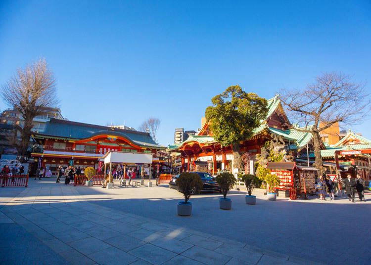 Kuil-kuil dan tempat-tempat suci sekitar Akihabara