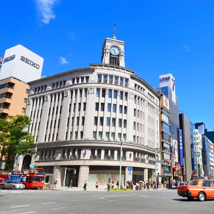 ข้อมูลท่องเที่ยวและแผนที่รอบสถานีกินซ่า สถานีโตเกียว