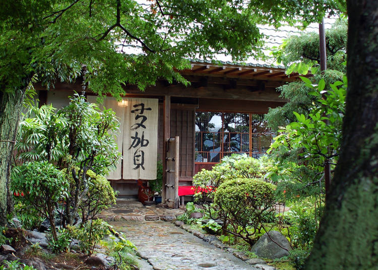 Atami Soba Taga: Enjoying Buckwheat in an Edo Era Trader's Residence