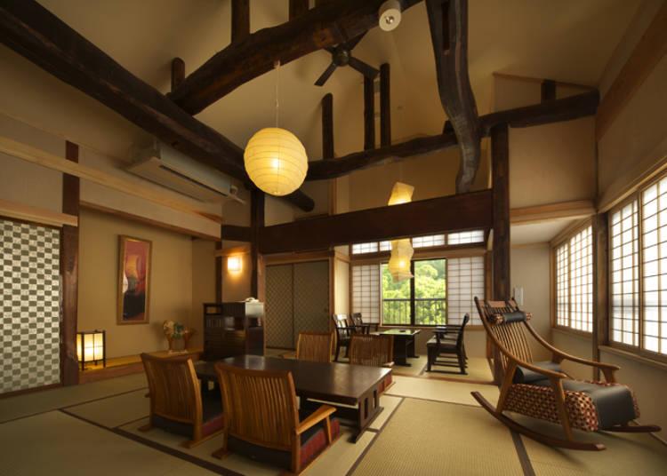 昔の日本が甦る別邸が魅力「竹林庵 みずの」