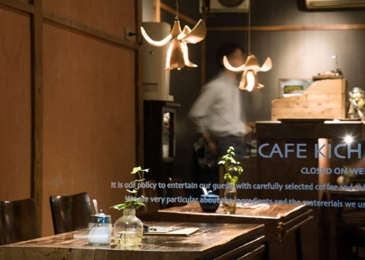 独门独户的木制时尚咖啡馆KICHI