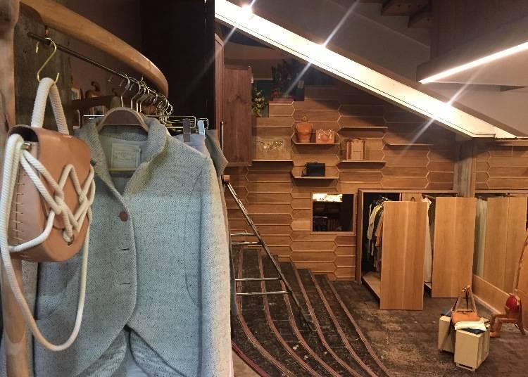 天然素材の服&鞄に一目惚れ「EOMO store」