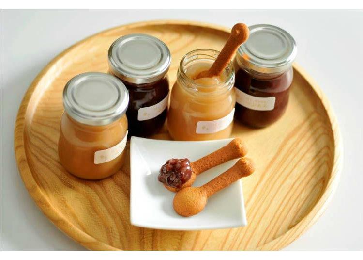 Sorairo's Hoshi & Cookie Set: Cookie Spoons to Savor Bean Paste With