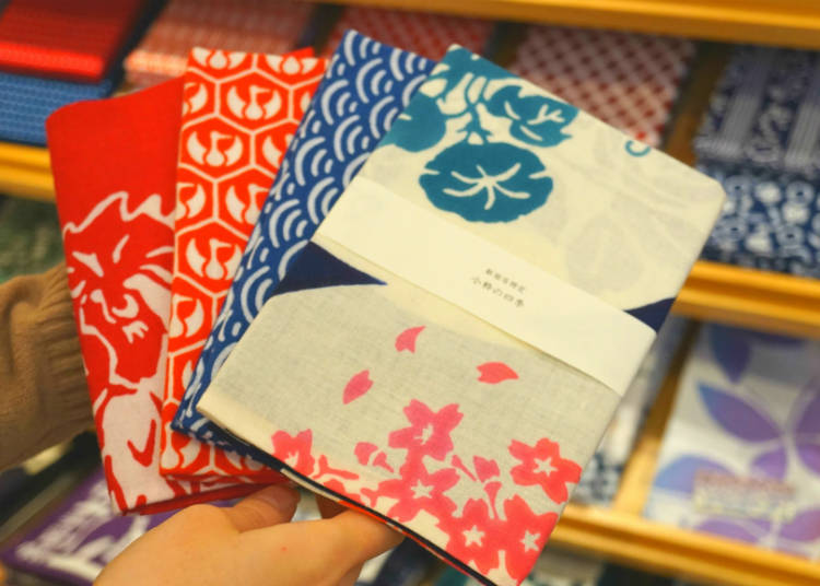 Japan's Traditional Hand Towels from Koiki