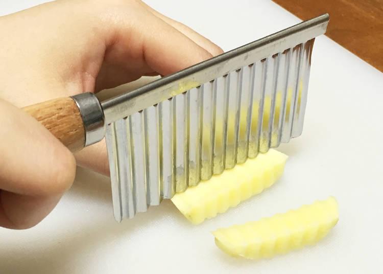 Making Crinkle Cut Fries has Never Been Easier!