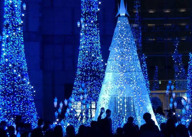 Illumination at Caretta Shiodome