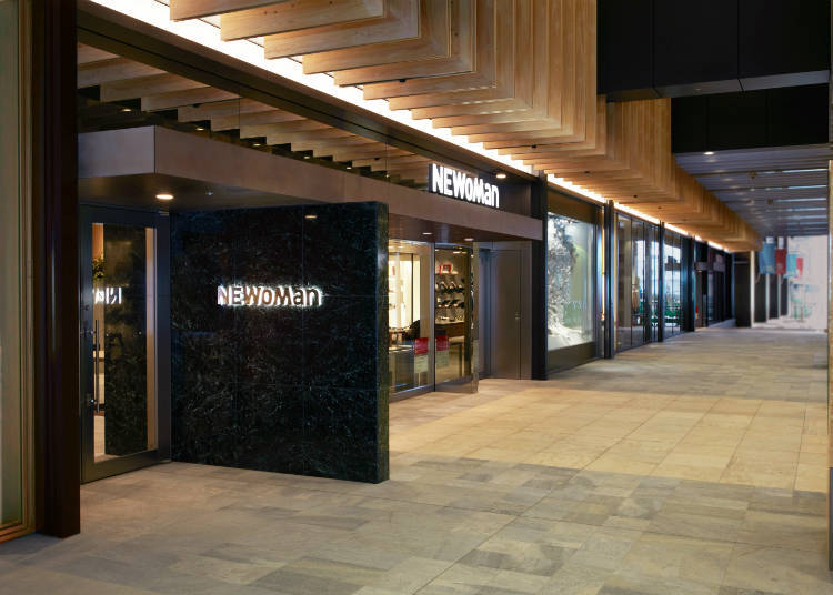 [Shopping] NEWoMan - Direct Access from Shinjuku Station!