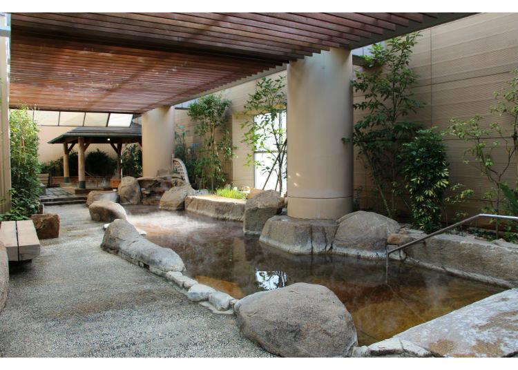 走進東京都都內第一大的溫泉設施!