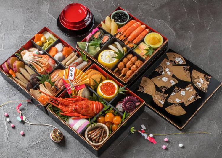 新年の日本の食事