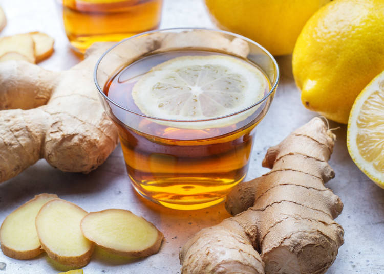 "Drink a Cup of ""Shouga-yu"" – Ginger Water / Tea"