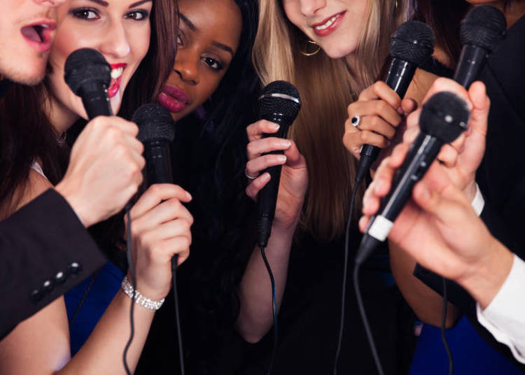 Karaoke in Shinjuku