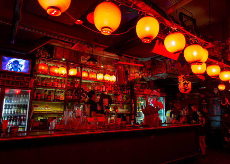 Shot bar PROPAGANDA - Party until the sun comes up!
