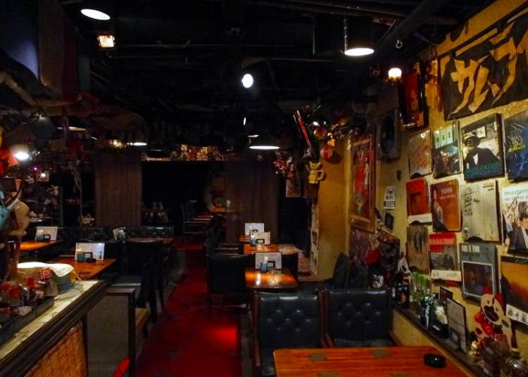 Showa-era Culture Infused with Jazz at Jazz Bar Samurai