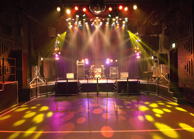 One of Shibuya's hottest clubs: Club Asia